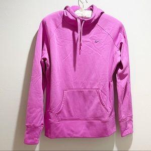NIKE THERMA-FIT Hot Pink Sweatshirt Hoodie
